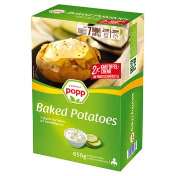 Popp Baked Potatoes oder Stampfkartoffeln