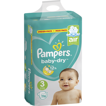Pampers babydry Windeln