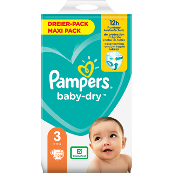 Pampers Baby-Dry, Baby-Dry Pants oder Premium Protection Dreier-Packs