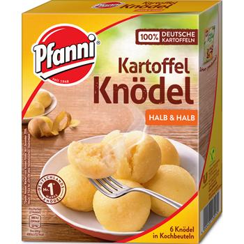Pfanni Kartoffel Knödel, Püree oder Stampf Kartoffeln