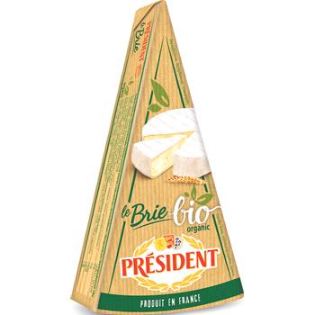 Président Bio Brie oder Camembert