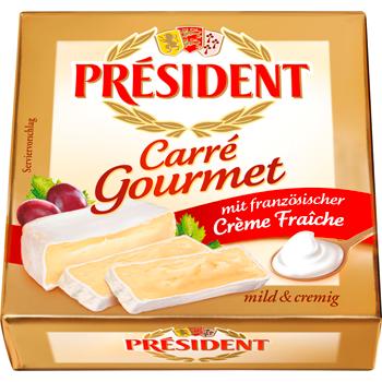 President Carré Gourmet oder Le Crémiot