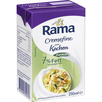 Rama Cremefine zum Kochen Haltbar