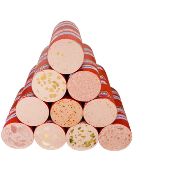 Rasting - Frischwurst-Aufschnitt