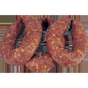 Kottenwurst (grobe Mettwurst)