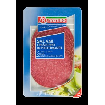 Rasting - Pfeffersalami, Sommerwurst oder Cervelatwurst