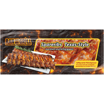 Rasting - Ran an den Grill Spareribs Texas Style oder Barbecue-Rips
