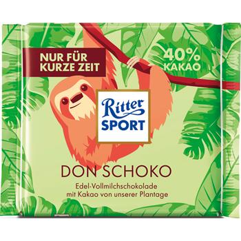 Ritter Sport Nuss- / Kakaoklasse oder Don Schoko