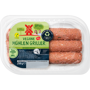 Rügenwalder Mühle - Vegane Mühlen Griller oder veganes Mühlen Hack