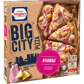 Wagner Big City Pizza oder Die Backfrische