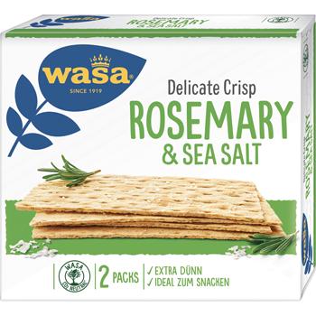 Wasa Delicate Crisp oder Crackers