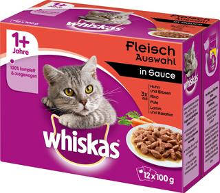 whiskas Katzennahrung
