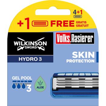 Wilkinson Hydro3 Rasierklingen Volksrasierer
