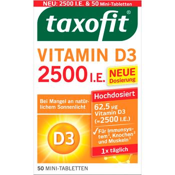 Taxofit Vitamin D3 2500 I.E.