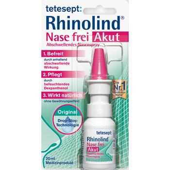 tetesept Rhinolind Abschwellendes Nasenspray