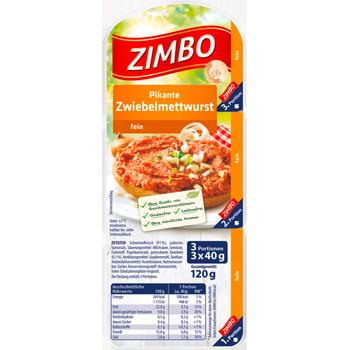 ZIMBO - Zwiebelmettwurst