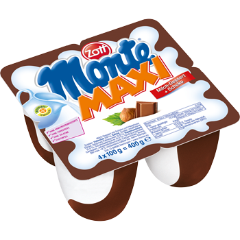 Zott Monte Maxi oder Black and White