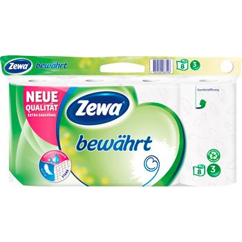 Zewa bewährt Toilettenpapier