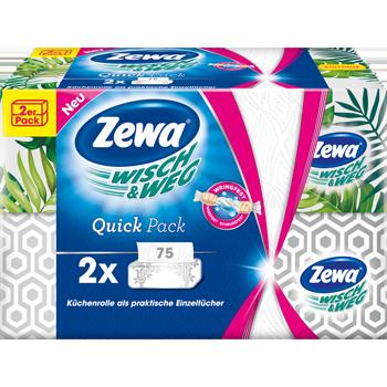 Zewa Wisch & Weg Quick Pack Küchenrolle