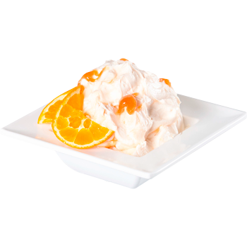 Ziegenfrischkäse mit Orangensenf