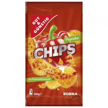 GUT & GÜNSTIG - Paprika Chips