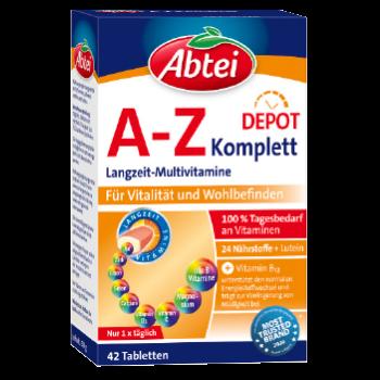 Abtei Depot A-Z Komplett