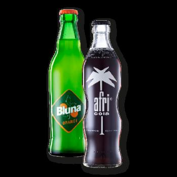 Afri Cola oder Bluna