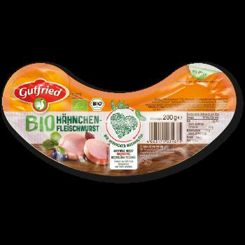 Gutfried - Bio Hähnchen-Fleischwurst