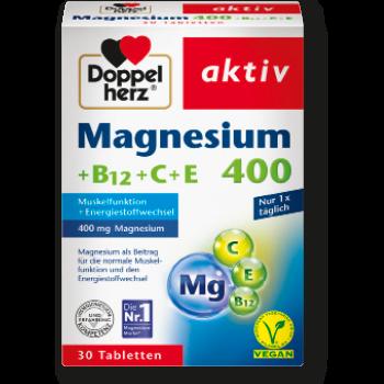 Doppelherz aktiv Magnesium 400