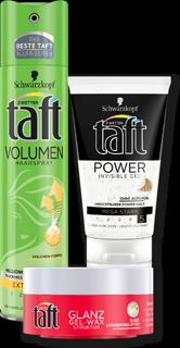 Drei Wetter Taft Haarspray, Styling-Gel, Wax, Schaumfestiger oder Haarlack