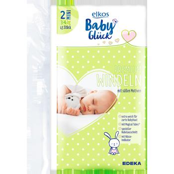 Elkos Baby Glück Premium Windeln