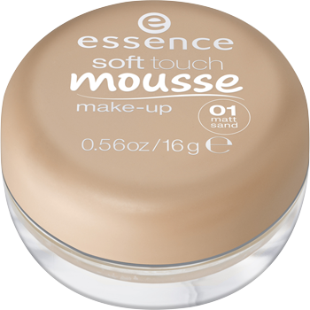essence soft touch Mousse oder all day 16 h Make-up