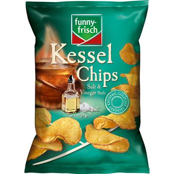 funny-frisch Kessel Chips, Ofen Chips oder Riffels