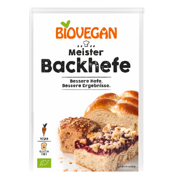 Biovegan Meister Backhefe