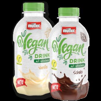 Müller Vegan Drink auf Haferbasis