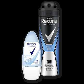 Rexona Deo-Rollon oder Deo-Spray
