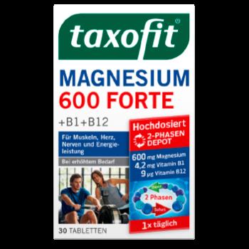 taxofit Magnesium 600 Forte