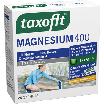 taxofit Magnesium 400 Direkt-Granulat