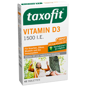 taxofit Vitamin D3 1500 I.E.