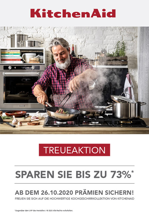 Treueaktion KitchenAid Geschirr